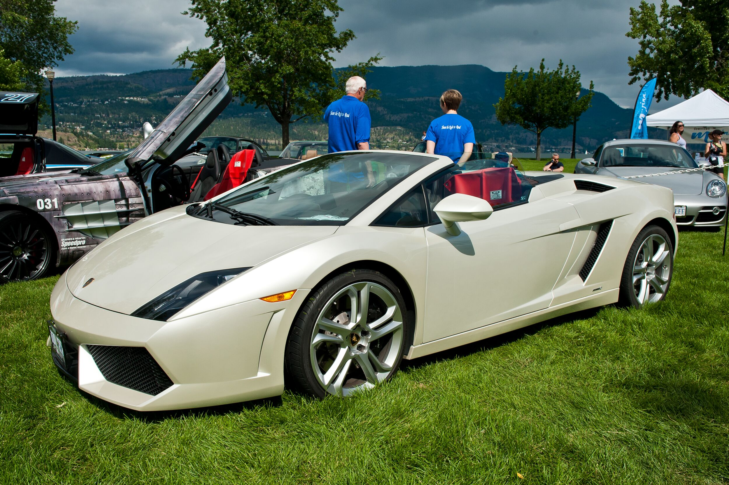 Come see us – and world cl Lamborghinis, Maseratis, Porsches and